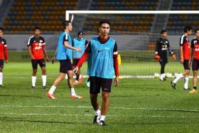 Singapore captain Shahril Ishak.