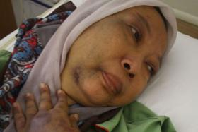 Ms Fadzilah Ismail, 50, claims her husband abused her non-stop for three hours on Monday.