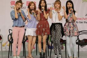 File photo of South Korean girl group 4Minute.