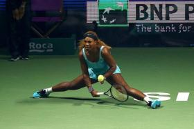 """""""I was pleased with my serve. Ana (Ivanovic) is a very aggressive returner and I went really hard at my second serve — I didn't push them."""" - Serena Williams."""