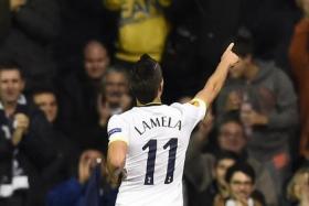 Take a bow, Erik Lamela.