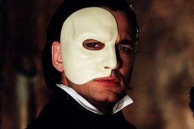 A still from the 2004 film adaptation of Phantom of the Opera.