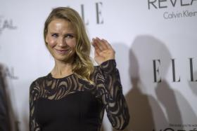 CHANGE: Actress Renee Zellweger at the Elle Women In Hollywood Awards on Monday (above) and at a movie premiere in 2008.