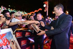 Chow Yun Fat has been outspoken about his support for pro-democracy protests in Hong Kong.