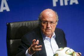 Fifa president Sepp Blatter isn't concerned by European nations threatening to boycott the 2016 World Cup in Russia due to the Ukrainian conflict.