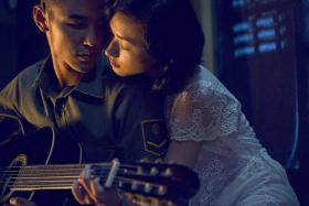 STEAMY: Ethan Juan and Chinese actress Wan Qian, in upcoming Taiwanese movie Paradise In Service.