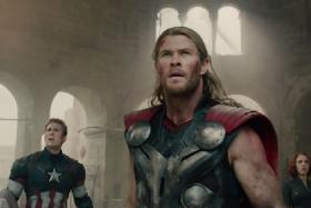 How coincidental is that? From scene to scene, the latest Avengers trailer syncs perfectly with Celine Dion's My Heart Will Go On.
