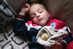 A hunt for an autistic boy's lost blanket turned viral.