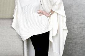 STILL LOOKING FAB: Carmen Dell'Orefice, the world's oldest model.