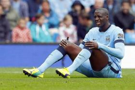 DYNAMIC DUO: Yaya Toure (above) should make way for Fernando and Fernandinho, who can boss the midfield for City in the Manchester Derby.