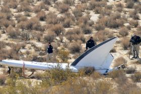 The man killed in the Virgin Galactic crash was identified on Saturday (Nov 1) as 39-year-old Michael Alsbury, a father of two.