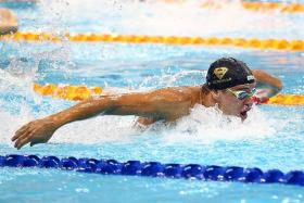 """""""To get 27 wins, no silvers, no bronzes... No one's done that. I made history, and I'm really happy with that."""" - Chad le Clos."""