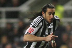 File photo of Jonas Gutierrez playing for Newcastle.