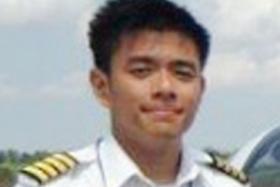 MISSING: Singaporean flight instructor Lua Boon Huan.