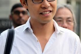 File photo of blogger Roy Ngerng.