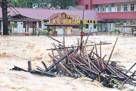 Wednesday's flooding is the second major incident at the highlands.