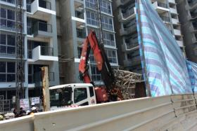 A man was killed at a construction site in Pasir Ris today (Nov 12).