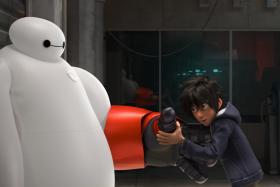 When he finds himself in the middle of a dangerous plot unfolding in the streets of San Fransokyo, robotics prodigy Hiro Hamada transforms his closest companion, a robot named Baymax, into a high-tech hero in the action-packed comedy-adventure.