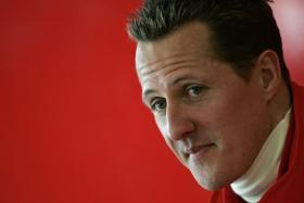 F1 ace Michael Schumacher is still recovering from a skiing accident that nearly ended his life.