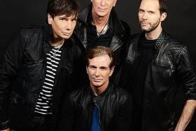 BIG ACT: US rock band Mr. Big comprises (clockwise from left) Eric Martin, Billy Sheehan, Paul Gilbert and Pat Torpey.