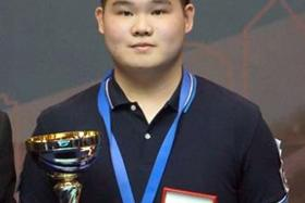 COOL AS A CUE-CUMBER: Winning the world junior title has given Aloysius Yapp (above) a lot of belief.