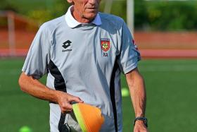 ON A MISSION: Raddy Avramovic (above) will hope to maintain his excellent record against Malaysia on Sunday.