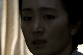Gong Li in a scene from Coming Home.