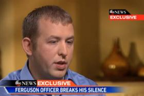 Police officer Darren Wilson, who shot dead Michael Brown, speaks publicly for the first time.