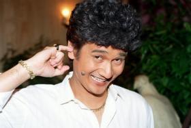 Farewell oh-permed-hair one.  Gurmit Singh, the man who plays Phua Chu Kang, announced he's quitting showbiz.