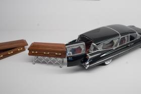 Model of a hearse