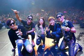 POPULAR: (From left) Lee Kwang Soo, Haha, Song Ji Hyo, Kim Jong Kook and Ji Suk Ji.