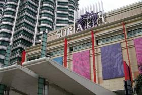 KLCC shopping centre in Kuala Lumpur. Shoppers will have more bang for their bucks now that the Malaysian ringgit is at a 10-month low against the Singapore dollar.