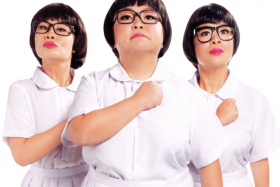 The Dim Sum Dollies are back with a new show that starts running at the Esplanade Theatre next week.