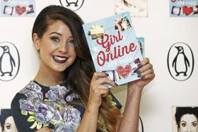Zoella, a YouTube star, has broken records with the sales of her debut novel, Girl Online.
