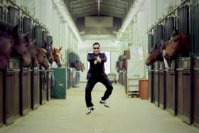 Psy's Gangnam style broke YouTube's view counter.