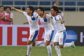 The Philippines have been beaten by Suzuki Cup semi-final opponents Thailand in each of their last 14 meetings.