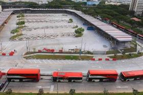 OPEN: Costing $23 million, the new Bedok Integrated Transport Hub opened on Sunday.