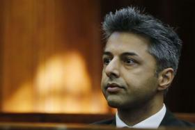 The accused Shrien Dewani, sitting in the Cape Town High Court in Cape Town.