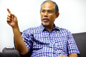"""These guys target children... The scary part is that they're targeting young people because they know... that (for) people who start young, the addiction is permanent."" - Senior Minister of State for Home Affairs and Foreign Affairs Masagos Zulkifli (above), on drug pushers who peddle cannabis-laced sweets."