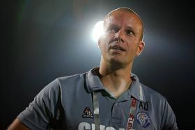 COHESION: Warriors coach Alex Weaver (above) has retained all five of his imports, to maintain stability, ahead of the upcoming S.League season.