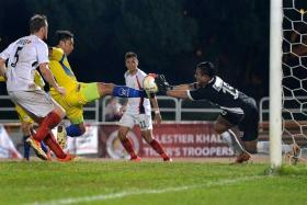 BIG SPENDERS, BIG HOPES: Tampines Rovers (in yellow) are determined to bounce back after a 2014 campaign that ended without a trophy.