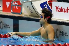 DARREN LIM: The national swimmer (above) is training at the Plymouth Leander swimming club, which produced Lithuanian Olympic breaststroke champion Ruta Meliutyte.