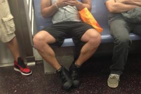 After chronicling multiple cases of manspreading, where a commuter (typically a male) takes up too much space by spreading his legs, New York officials are launching a campaign to fight against the problem.