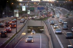 The Kuala Lumpur Smart tunnel is a regular motorway when there are no storms or floods and diverts water away from the city during heavy rain.