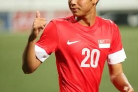 PRECOCIOUS: Adam Swandi (above) spent a year learning his trade at French Ligue 2 side FC Metz.