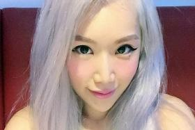 (Above) Miss Wendy Cheng, who goes by the blogger moniker Xiaxue.