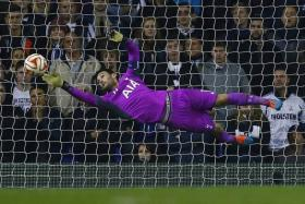 SUPERHUMAN EFFORT: Hugo Lloris (above) and his Tottenham teammates will have to be at their best on Friday morning if they are to beat EPL leaders Chelsea at White Hart Lane.