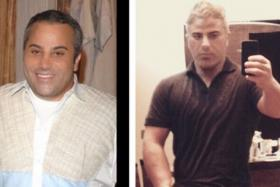 Celebrity hairstylist David Babaii dropped 61kg in four months with the encouragement of actress client and pal Gwyneth Paltrow.
