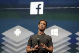 File photo of Facebook chief executive officer Mark Zuckerberg.
