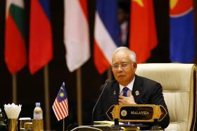 File photo of Malaysia Prime Minister Najib Razak.